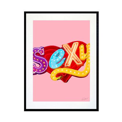 Sexy Art Print