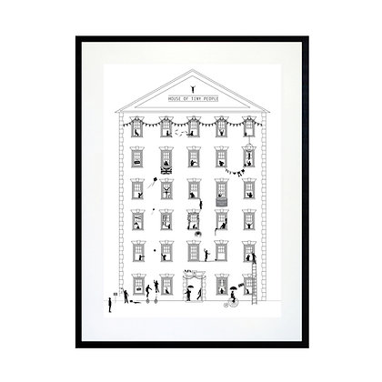 House of Tiny People Art Print