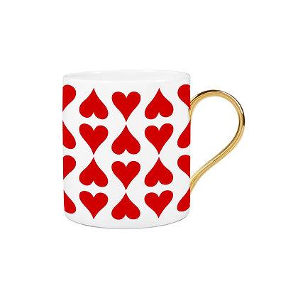 Heart Pattern Mug