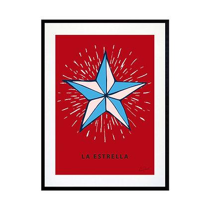 La Estrella Art Print