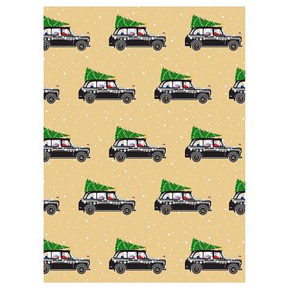 Christmas Black Cab