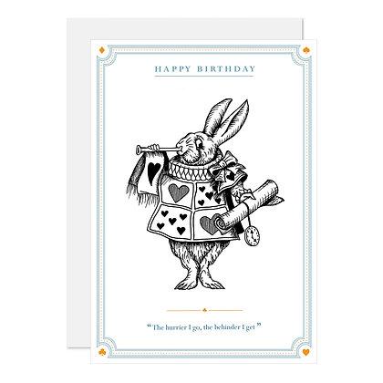 The White Rabbit - Birthday