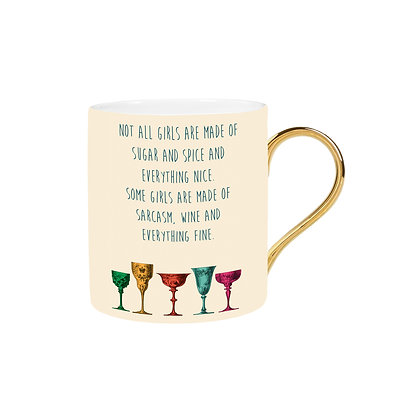 Sarcasm and Wine Mug
