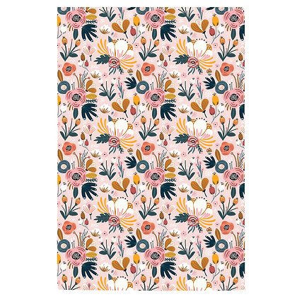 Floral no.1 Tea Towel