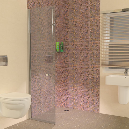 UniClosure 600 Hinged Wet Room Screen