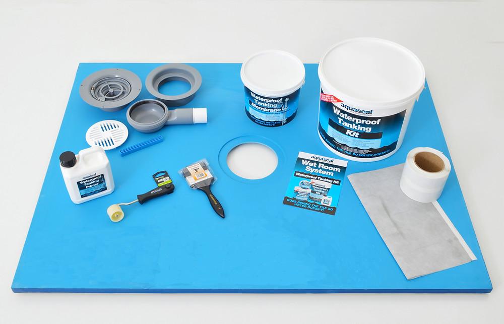Wet Room Ideas for Vinyl Flooring