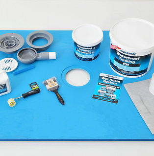Line 1400x900 Wet Room Tray Kit for Vinyl Flooring