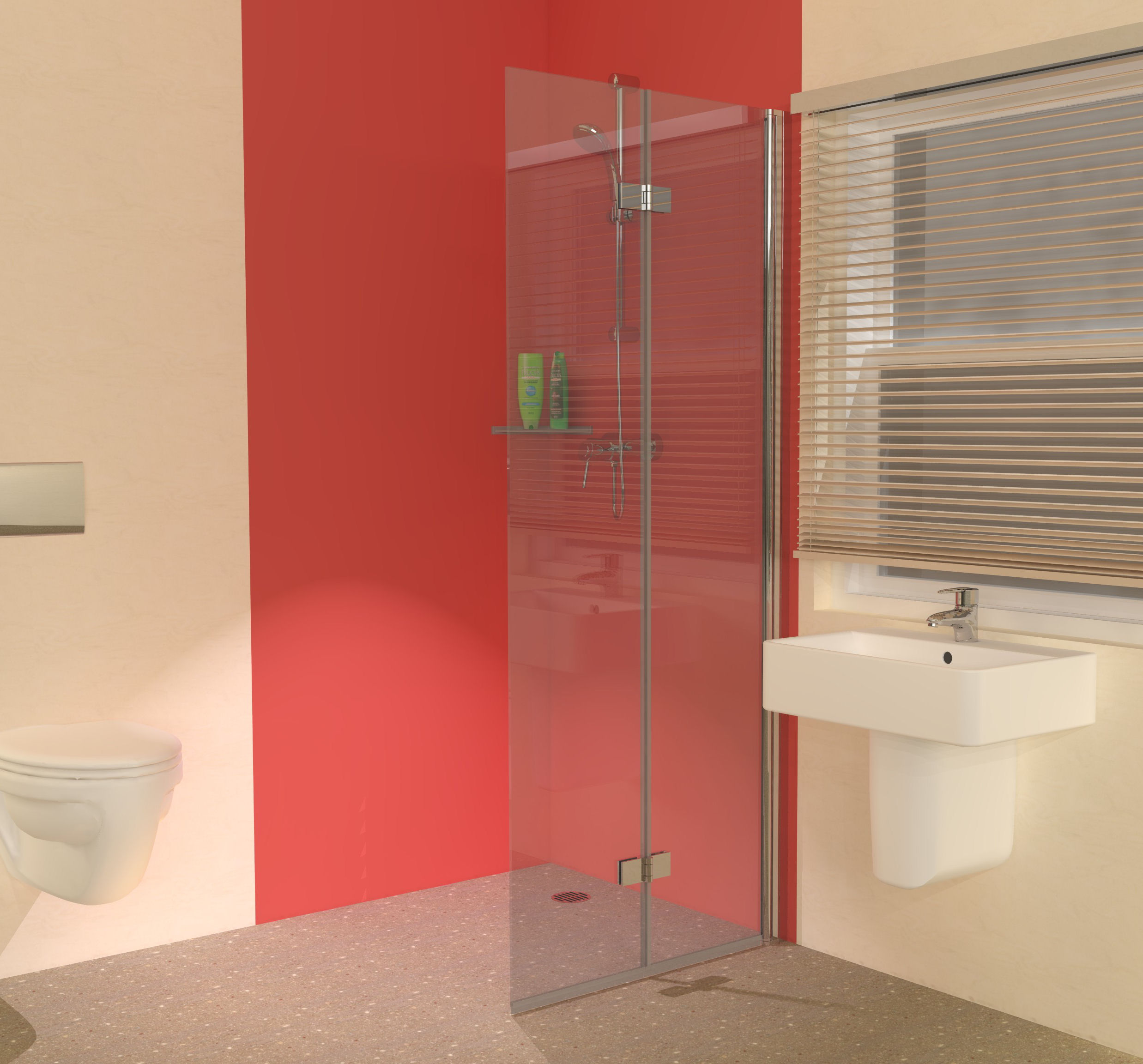 Wet Rooms England Hinged Wet Room Screens
