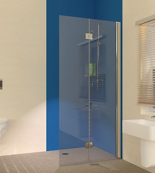 UniClosure 900  Folding Hinged Wet Room Screen