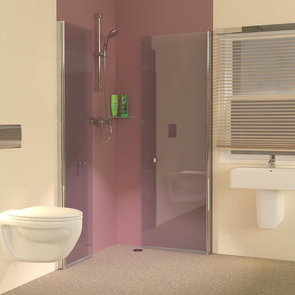 Foldaway Walk in Shower Enclosures