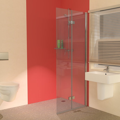 UniClosure 800 Folding Wet Room Screen
