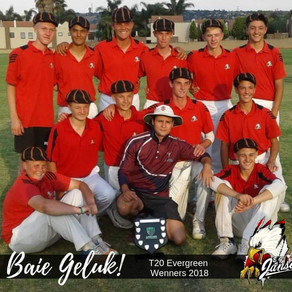 Krieket: T20 Evergreen Wenners