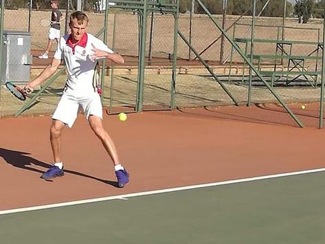 E.G. Jansen tennisafrigter gekies vir USSA-span: