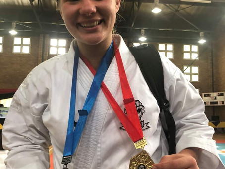 Karate Kampioen behaal Goud!