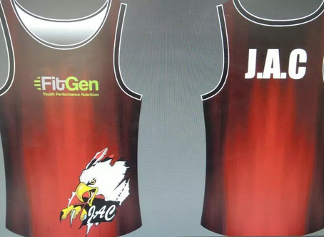 Nuwe Klere vir E.G. Jansen Athletics Club!