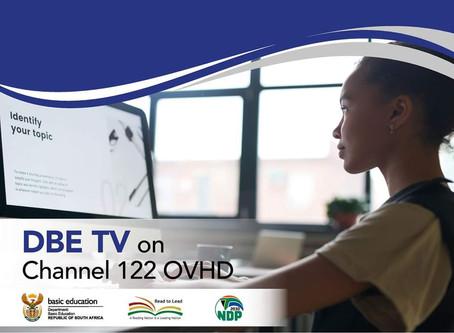 DBE TV op kanaal 122 OVHD