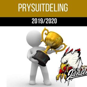 PRYSUITDELING 2019/2020
