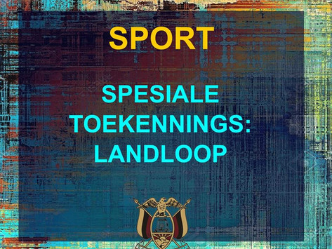 PRYSUITDELING 2019 -SPORT - LANDLOOP