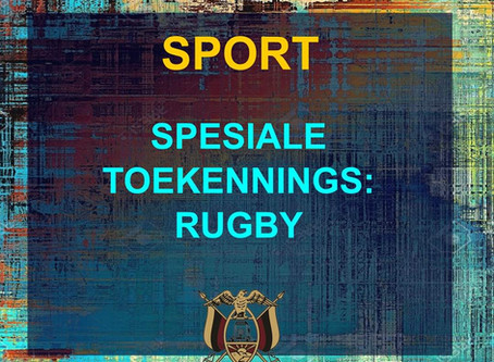 PRYSUITDELING 2019 -SPORT - RUGBY