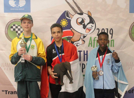 Devon Smit eindig tweede in Afrika Jeugpele!