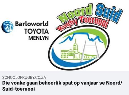 Nuus van Noord Suid Rugby Toernooi: