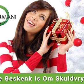 BORGE IS BELANGRIK: Debt Free with Armani