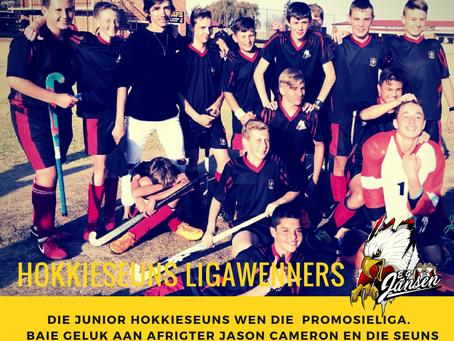 Junior Hokkieseuns Ligawenners!
