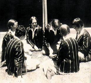 Pouse voor die saal 1974 - E.G. Jansen