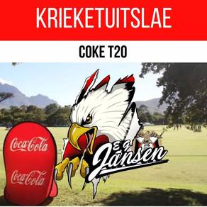 Krieket: Coke T20-Uitslae