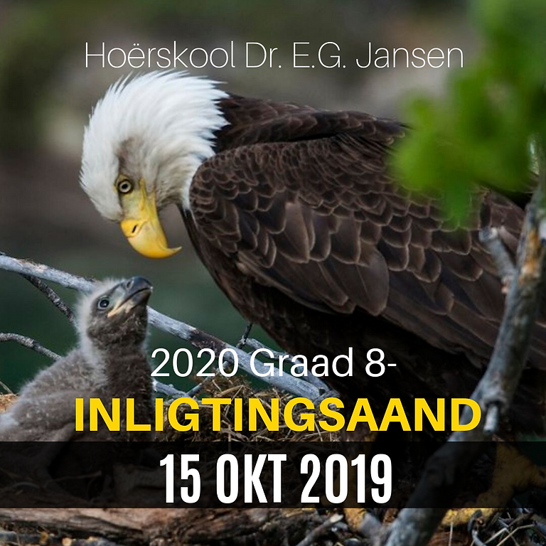2020 GRAAD 8-INLIGTINGSAAND