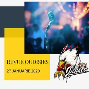 Revue Oudisies: 27 Januarie 2020