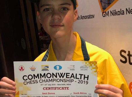 Devon eindig 5e in Commonwealth Games / Statebondspele!