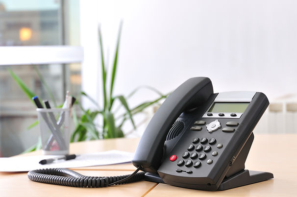 telephone in office