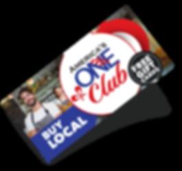 America's One Club gift card