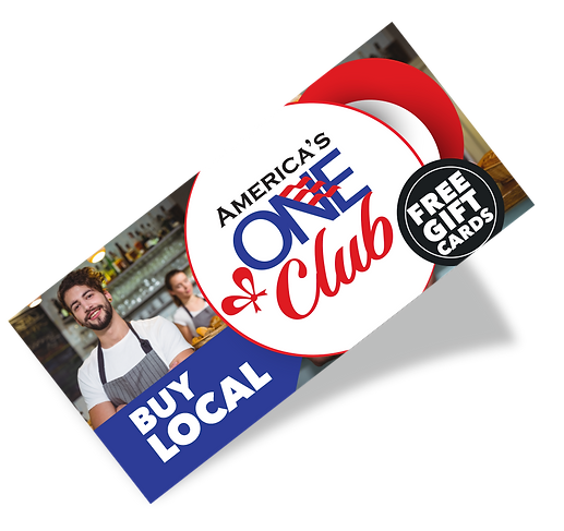 America's Once Club gift card