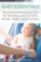 Baby Essentials - Car seats, stroller, a