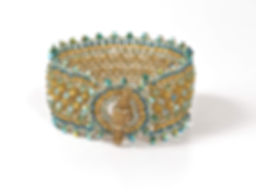 Serrated Cuff Turquoise Lime 01.jpg