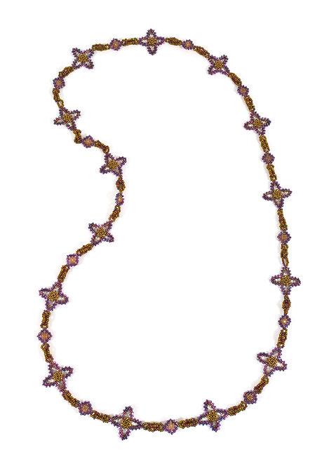 Quatrafoil Links Necklace & Earrings