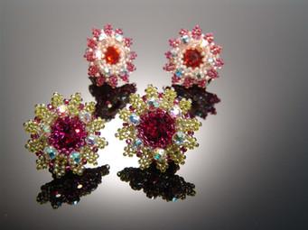 Flower Motif Earrings.JPG