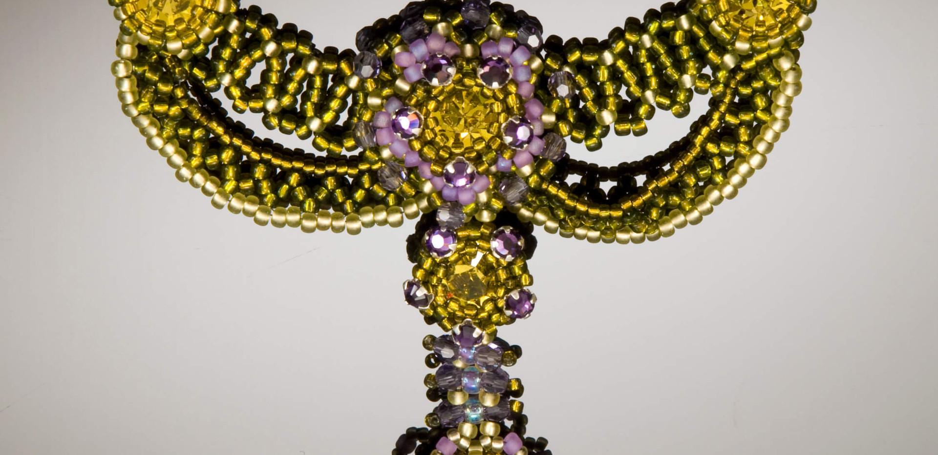 Lime & Purple Velvet