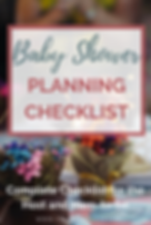 How to plan a baby shower- Shower planni