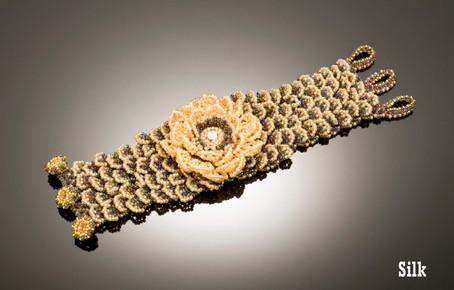 Petalicious Cuff in Silk