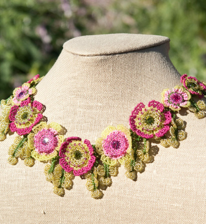 Flowers of The Field Necklace