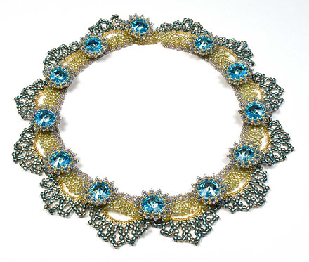 Swag Collar Necklace & Earrings
