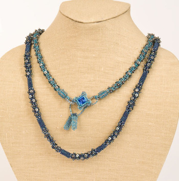 Back On The Chain Gang Necklace Sapphire