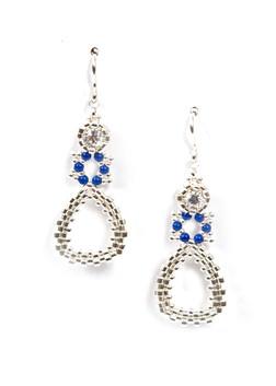 Dew Drops Earrings in Silver