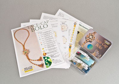 Lace Cap Bolo and Necklace Kit