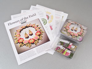 Flowers of The Field Necklace and Earrings Kit