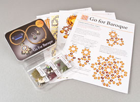 Go For Baroque Necklace and Earrings Kit
