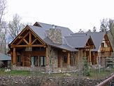 Custom Log Home built in Pagosa Springs